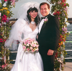 Burt and Tracy's wedding
